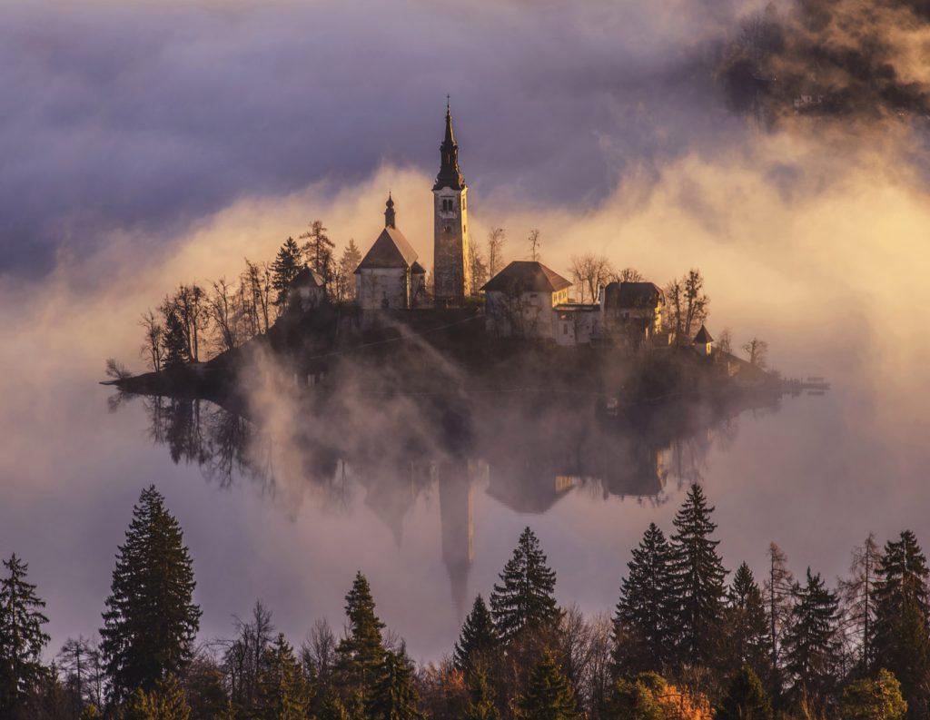 Traveler In The Mist